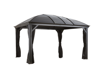 Sojag Moreno Hardtop Gazebo Sun Shelter with Mosquito Netting - Senior.com Gazebo