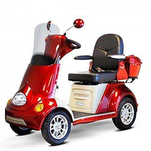 Ewheels 4-Wheel Heavy Duty Luxury Scooter with Built-in Stereo EW-52