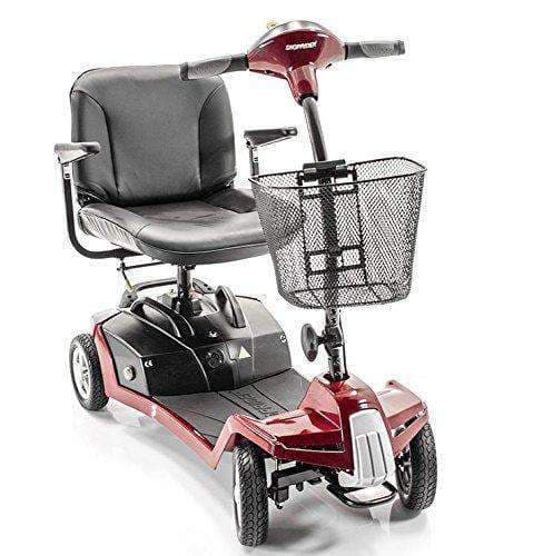 Shoprider Escape 4-Wheel Portable Take Apart Mobility Scooters - Senior.com Scooter