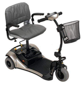 Shoprider Dasher 3 Wheel Color Interchangeable Personal Travel Scooter GK83