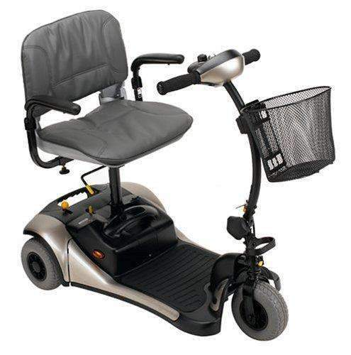 Shoprider Dasher 3 Wheel Color Interchangeable Personal Travel Scooter - Senior.com Scooters