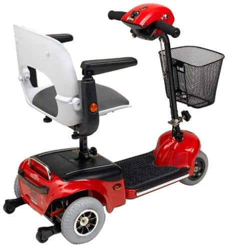 Shoprider Lightweight Scootie Folding Electric Mobility Scooters - Senior.com Scooters