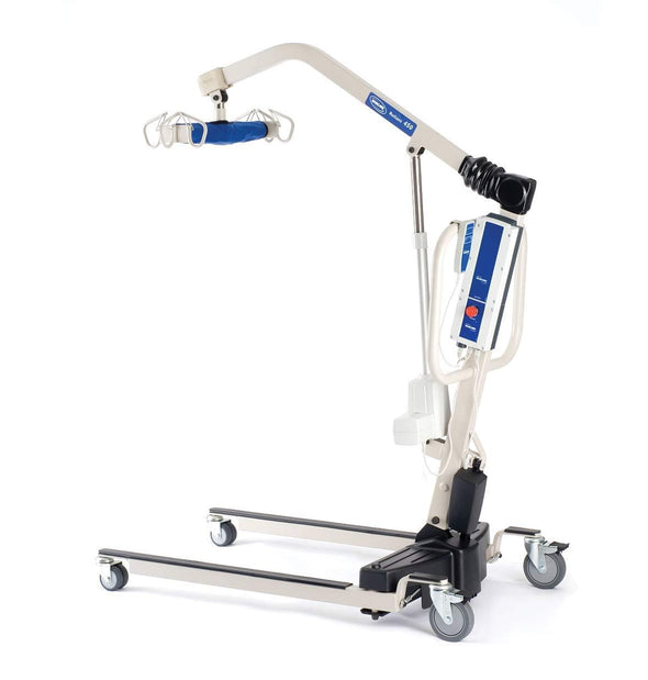Invacare Reliant 450 Battery-Powered Patient Lift with Low Base - Senior.com Patient Lifts