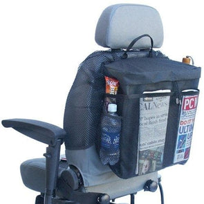EZ Access Power Chair Pack - Multiple Storage Pockets - Senior.com Wheelchair Parts & Accessories