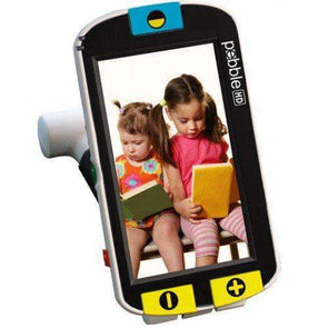"Enhanced Vision Pebble Portable Video Magnifier - 4.3"" Viewing Screen"