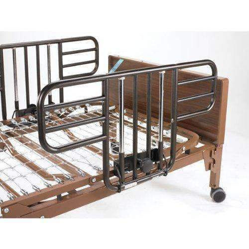 Drive Medical Semi Electric Hospital Bed with Half Rails - Senior.com Bed Packages
