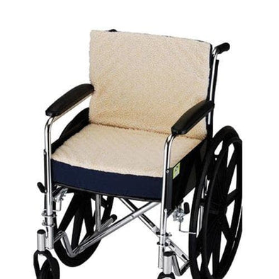 Nova Medical Convoluted Seat & Back Foam Cushion with Fleece Cover - 3 Inch - Senior.com Wheelchair Parts & Accessories