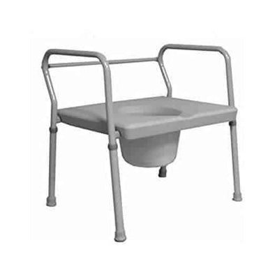 Roscoe Medical 24-Inch Extra Wide Commode - Gray - Senior.com Commodes