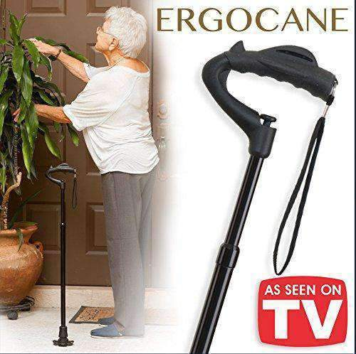 Ergoactives Ergocanes – Fully-Adjustable Ergonomic Canes As Seen On TV
