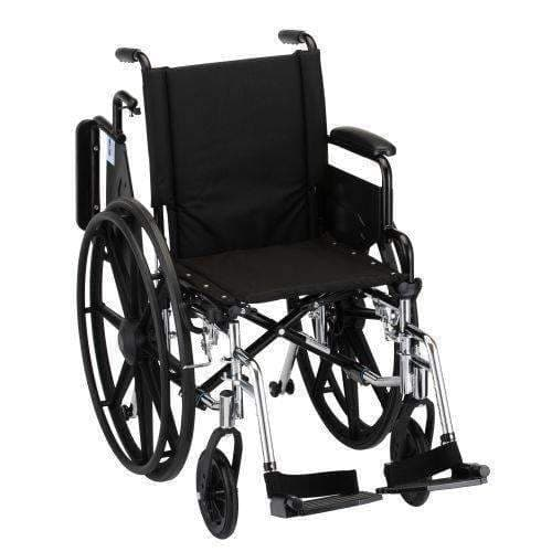 Nova Medical Lightweight Steel Hammertone Wheelchairs