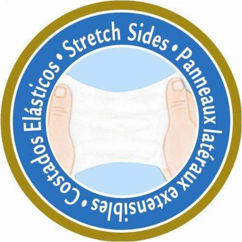 TENA Stretch Ultra Tab Closure Medium Disposable Unisex Briefs - Heavy Absorbency