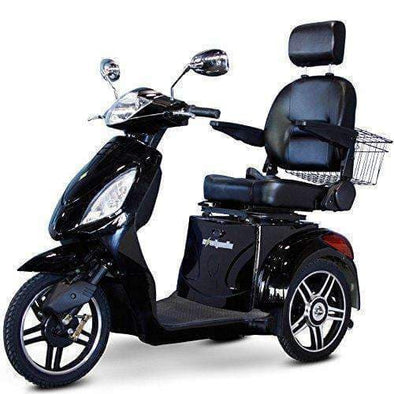 EWheels 3-Wheel Electric Mobility Scooter – Black - Senior.com Scooters