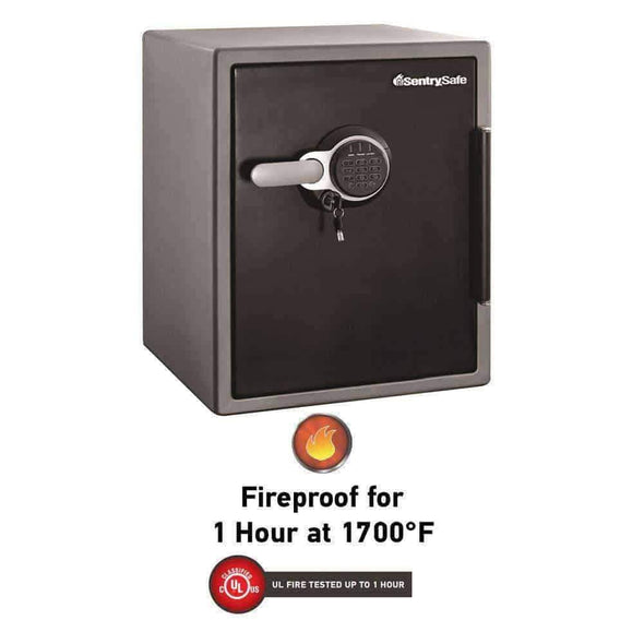 SentrySafe SFW205GQC Fireproof Safe and Waterproof Safe with Digital Keypad 2.05 Cubic Feet - Senior.com Security Safes