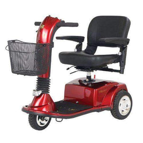 Golden Technologies Companion 3 Wheel Mid Size Luxury Scooters GC240 red