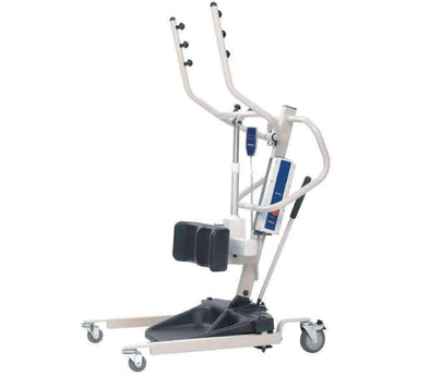 Invacare Reliant 350 Stand-Up Patient Lift with Manual Low Base - Senior.com Patient Lifts