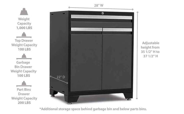New Age Products Pro 3.0 Series Multi-Functional Cabinets - Senior.com Garage Cabinets