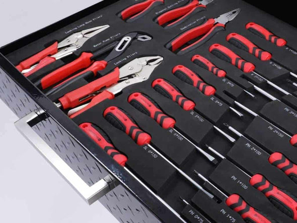 New Age Products Pro 3.0 Performance Plus 2.0 Socket, Screwdriver, Plier and Wrench Tray - Senior.com Garage Storage Accessories