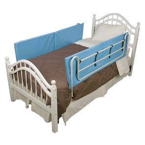 DMI Vinyl Bed Rail Cushions with Non-Allergenic Cover - Bed Rail Bumper Pads - Senior.com Bed Rails