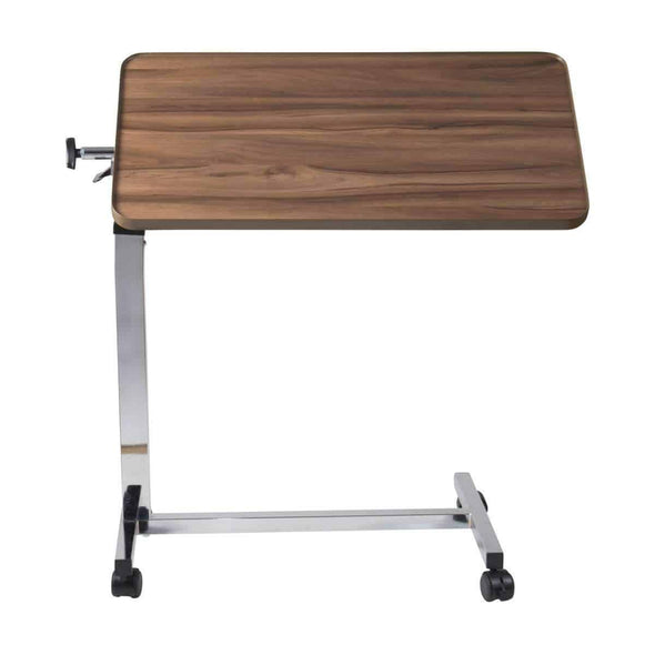 DMI Deluxe Heavy Duty Overbed Tilt-Top Table - Adjustable Height - Senior.com Overbed Tables