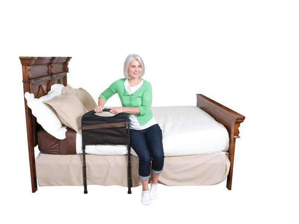 Stander Stable Adult Bed Rail with Cushioned Support Bed Handle