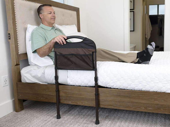 Stander Stable Adult Bed Rail with Cushioned Support Bed Handle 5800