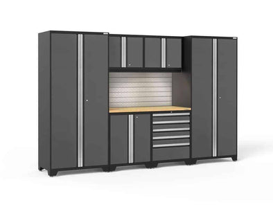 New Age Products Pro 3.0 Series Garage Storage Cabinet 7 Piece Sets