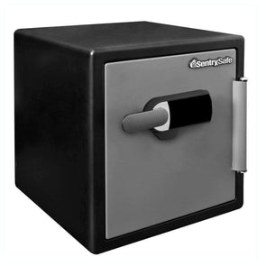 SentrySafe Water and Fire Resistant Safe Touchscreen Keypad with Audible Alarm - Senior.com Security Safes