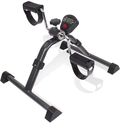 Carex Portable Under Desk Exercise Pedaler with Digital Display - Senior.com Peddle Exercisers