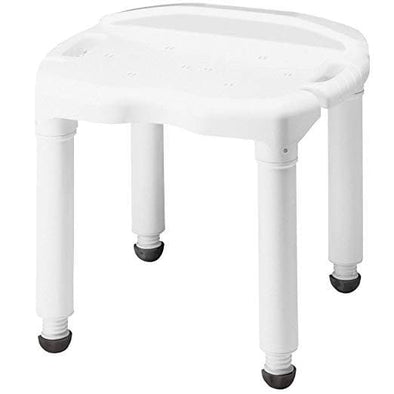 Carex Universal Bariatric Bath Seat and Adjustable Height Shower Chair - Senior.com Bath Benches & Seats