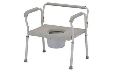Nova Medical Products Heavy Duty Commode with Extra Wide Seat - Senior.com Commodes