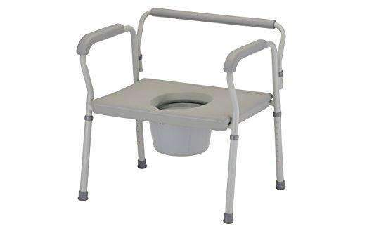 Nova Medical Products Heavy Duty Bariatric Commode with Extra Wide Seat - Senior.com Commodes