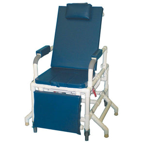 MJM International PVC Universal Patient Transfer System with Cushioned Elevating Leg Rests - Senior.com Transfer Equipment