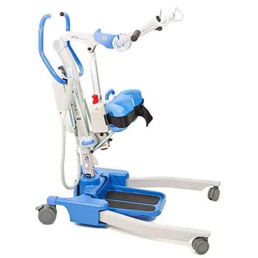 Hoyer Journey Sit to Stand Patient Lift - Compact & Foldable Standing Aid - Senior.com Patient Lifts