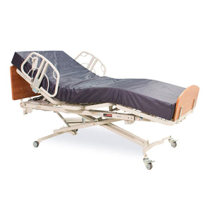 MED-MIZER RetractaBed Wall Hugger Home Care Bed Package - Includes Mattress and Side Rails - Senior.com Bed Packages