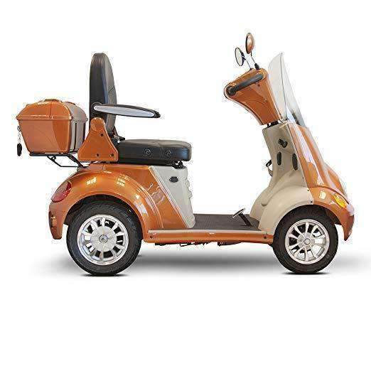 Ewheels 4-Wheel Heavy Duty Bariatric Luxury Scooter with Built-in Stereo - Senior.com Scooters