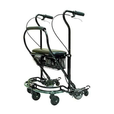 In-Step Mobility U-Step 2 Foldable Walking Stabilizer - Upright Rolling Walker - Senior.com Walkers