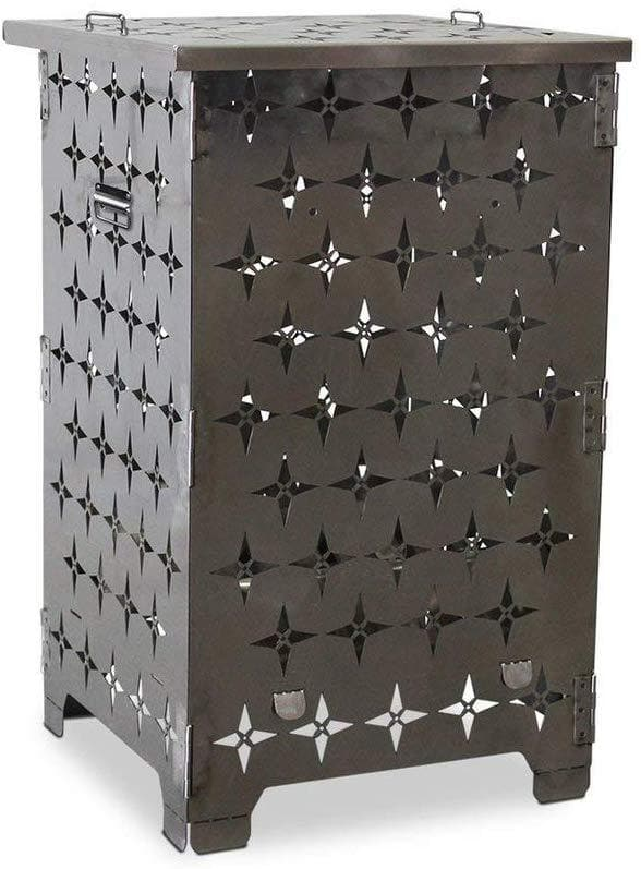 Blue Sky Stainless Steel Outdoor Burn Cage - Senior.com Burn Cages
