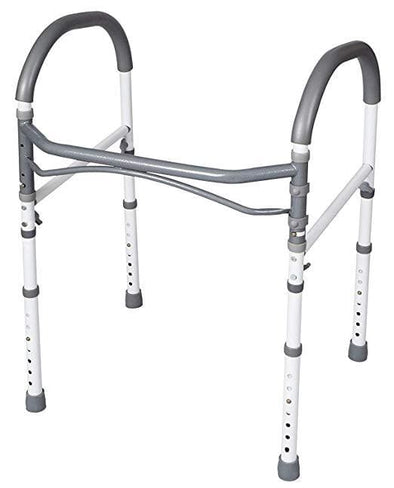 Carex Toilet Safety Rails & Standing Aid - Senior.com Grab Bars & Safety Rails