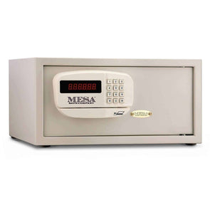 Mesa Safe Company Medium Residential and Hotel Electronic Burglary Safe - Cream - Senior.com Security Safes