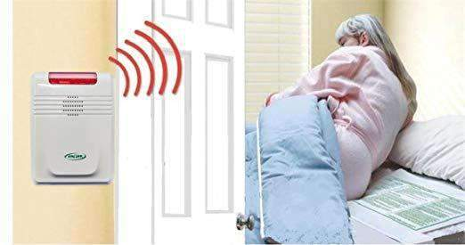 Smart Caregiver Wireless Bed Alarm and Bed Pad -Alarm in Patient's Room Not Necessary! - Senior.com Fall Prevention