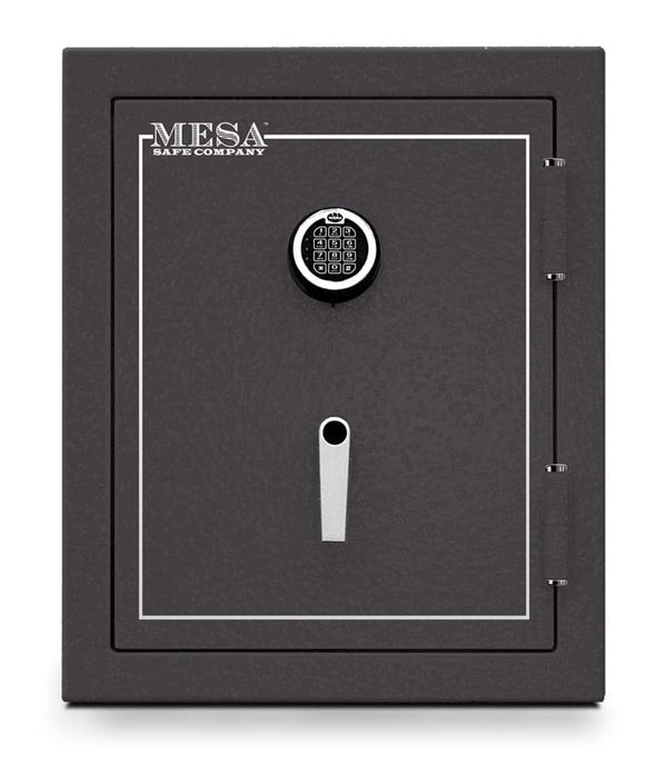 Mesa Safe Company Burglary and Fire Safe with Electronic Lock - Hammered Gray - Senior.com Security Safes