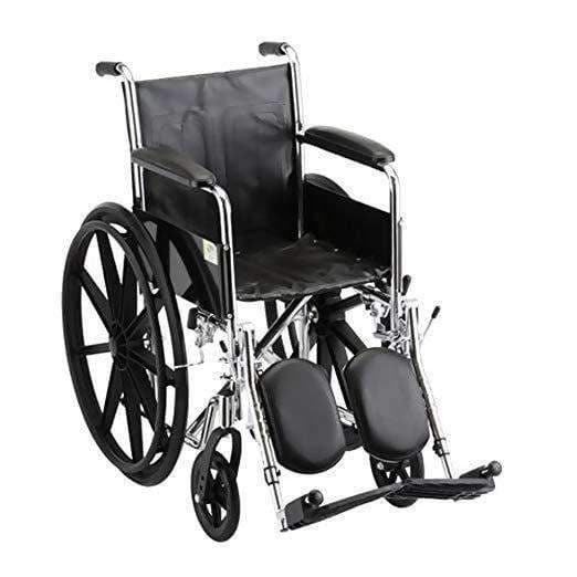 Nova Medical Steel Standard Wheelchairs - Fixed Arms & Elevating Leg Rests - Senior.com Wheelchairs