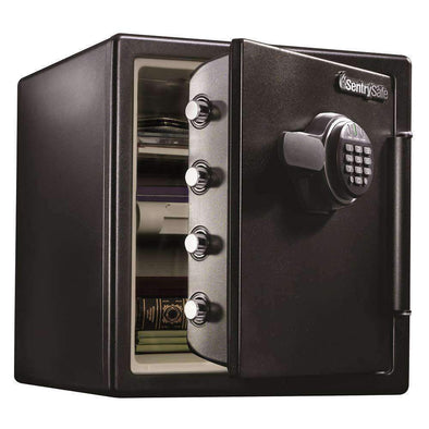 SentrySafe Fireproof and Waterproof Safe with Electronic Keypad - 1.23 Cubic Feet - Senior.com Fires Safes