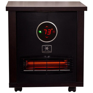 Heat Storm Logan Classic Infrared Quartz Portable Heater with Built-In Thermostat - Senior.com Heaters & Fireplaces