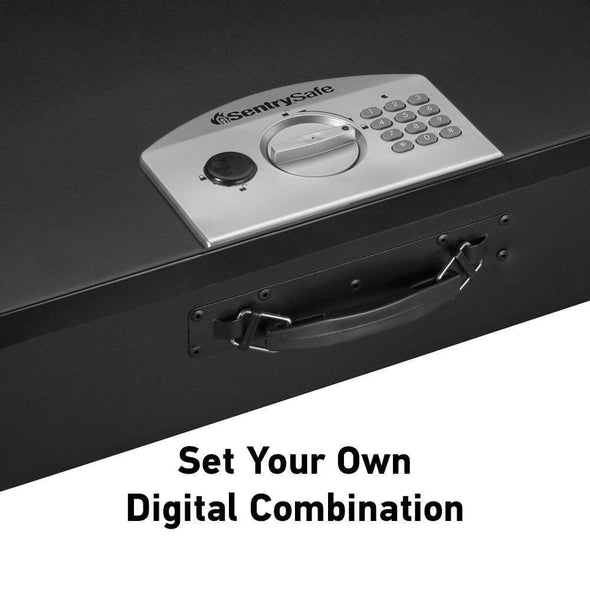 SentrySafe Electronic Portable Security Safe with Handle - 0.5 Cubic Feet - Senior.com Portable Safes