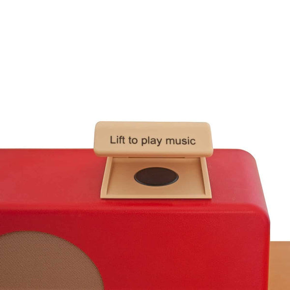 Simple Music Player with Lid - MP3 Player for Alzheimer & Dementia Patients - Senior.com Music Players