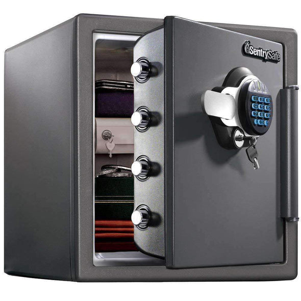 SentrySafe Fireproof Safe and Waterproof Safe with Digital Keypad - 1.23 Cubic Feet - Senior.com Security Safes