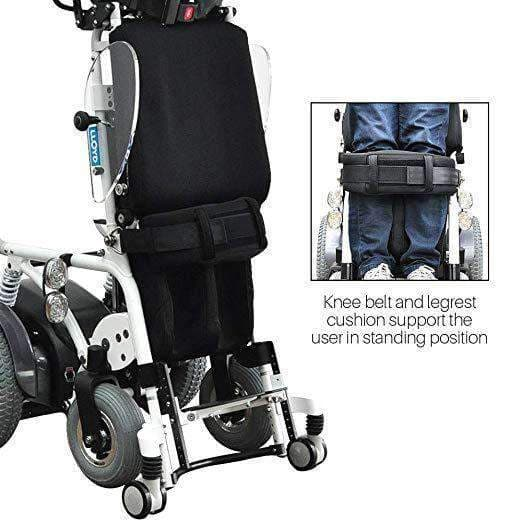 Foldawheel Draco Electric Standing Power Wheelchair with Lie Down, Stand, Sit and Recline Positions - Senior.com Power Chairs