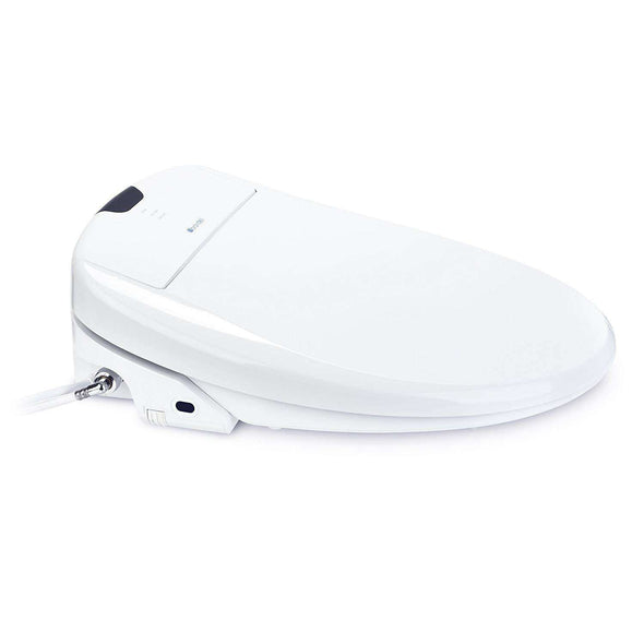 Brondell Swash 1400 Luxury Bidet Toilet Seat with Dual Stainless-Steel Nozzles and Nanotechnology Nozzle Sterilization, Endless Warm Water, Warm Air Dryer & Nightlight - Senior.com Bidets