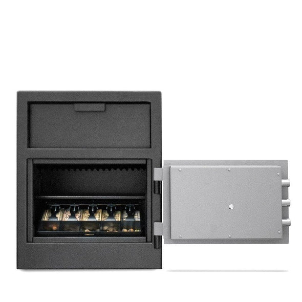 Mesa Safes Depository Safe All Steel with Combination Lock - 1.9 cu ft - Senior.com Security Safes